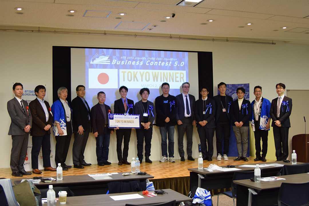 株式会社カウリス、NTTデータ主催「第5回 豊洲の港Presents グローバルオープンイノベーションビジネスコンテスト」東京選考会の審査員特別賞を受賞